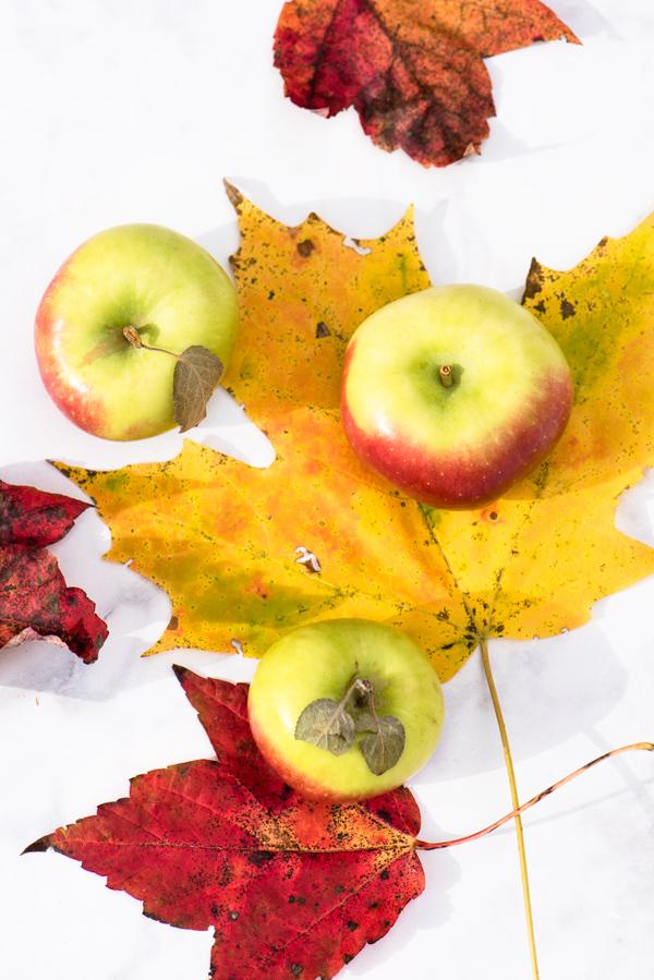 Smoky-Maple Apple Dutch Baby Pancake recipe.