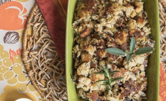 My favorite turkey stuffing recipe.