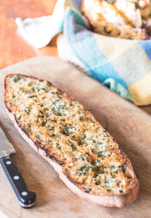 Garlic Bread with Fresh Herbs, recipe.