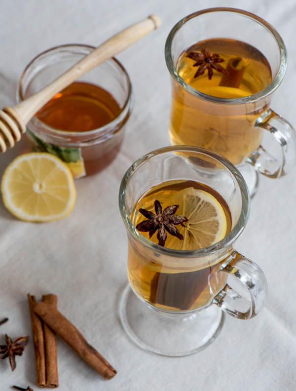 Hot Toddy Time, recipe.
