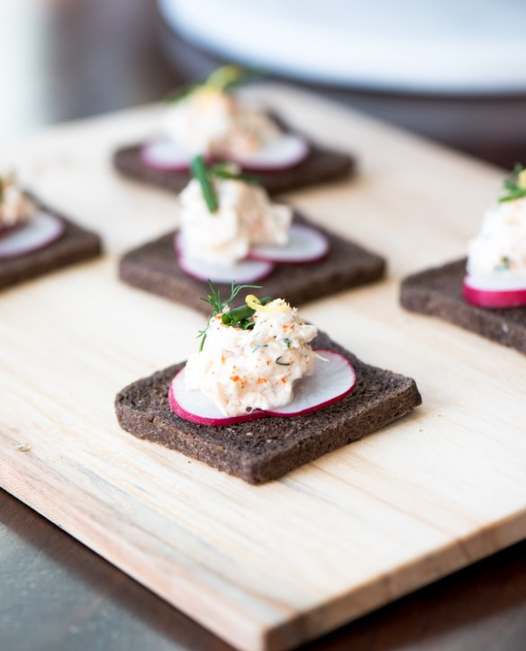 Airy Salmon Mousse, recipe.