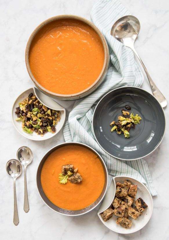 Purée of Vegetable Soup