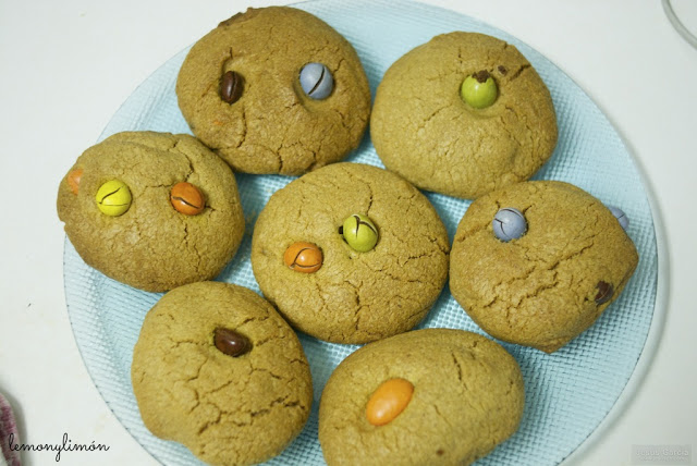 cookies mantequilla cacahuete