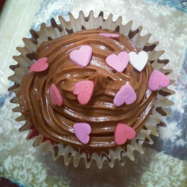 cupcakes de nocilla