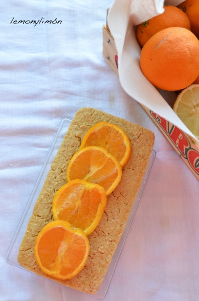 "Bizcocho ""fitness"" de limón y naranja"
