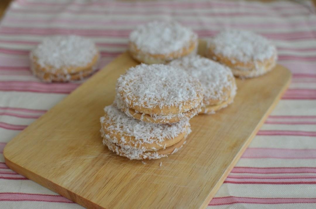 galletas María con mantequilla y coco
