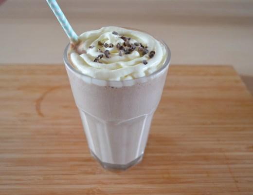 batido de Nocilla crema de cacao y avellanas