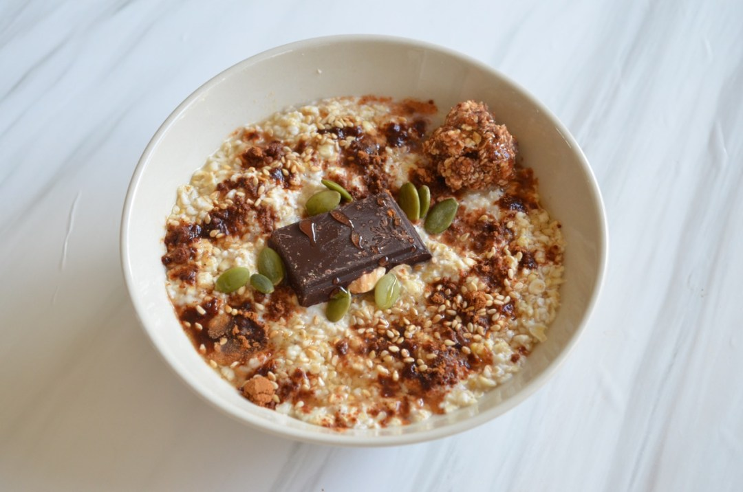 Desayuno saludable - Porridge de avena