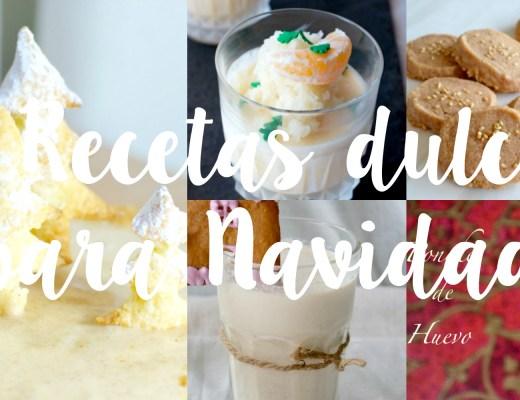 5 recetas dulces fáciles perfectas para Navidad