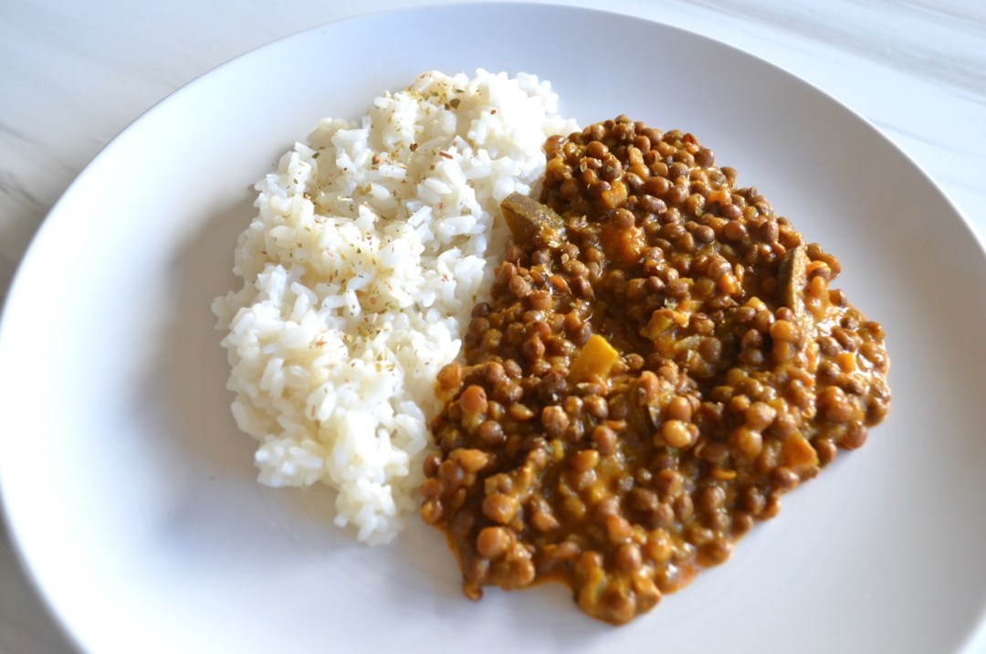 curry de lentejas