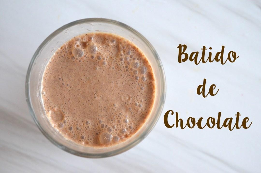 Batido de Chocolate Vegano