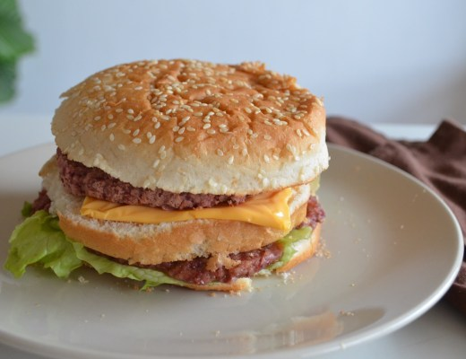 Hamburguesa Big Mac Vegana