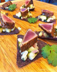 Tuna Fish & Chips Surreal Bites