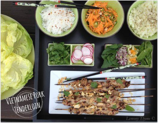 Vietnamese Pork Tenderloin from Lemony Thyme