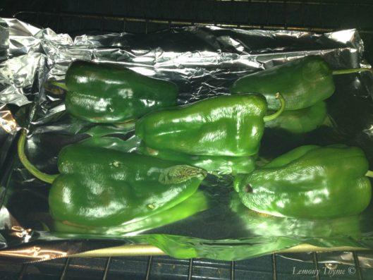 Stuffed Pablano Peppers