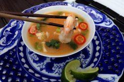 Thai Hot & Sour Shrimp Soup Tom Yum Goong