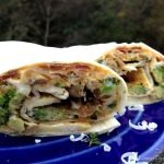 Broccoli & Bacon Breakfast Burrito