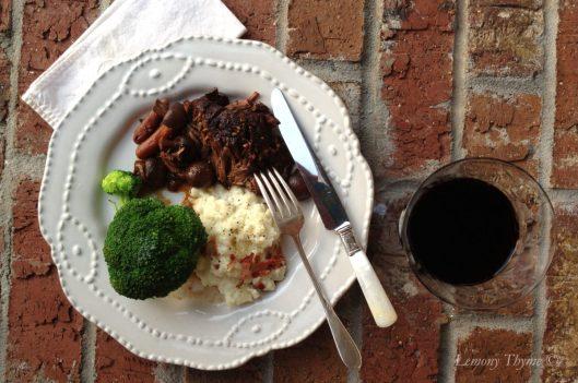 Slow Braised Beef Pot Roast