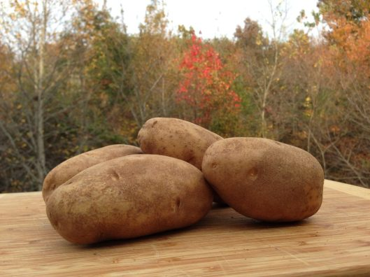 Sliced Twice Baked Potatoes