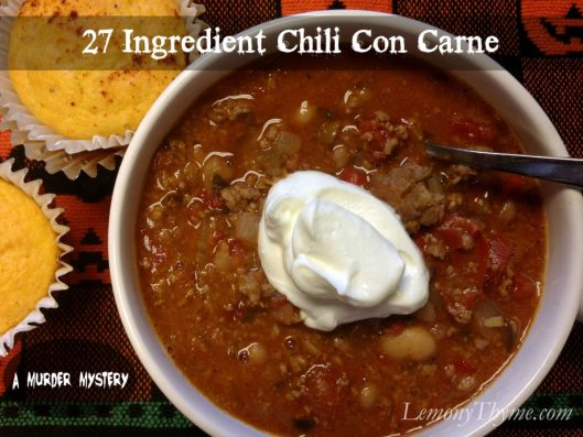 27 Ingredient Chili Con Carne | LemonyThyme.com
