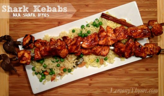 Shark Kebabs from Lemony Thyme