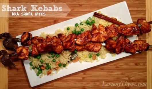 Shark Kebabs from Lemony Thyme