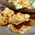 Bacon Egg & Cheddar Cheese Biscuits