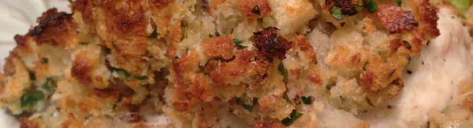 Horseradish Encrusted Grouper