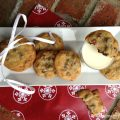 Bacon Chocolate Chip Cookies Topped with Sea Salt