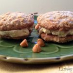 Buttercrunch Oatmeal Cookie Ice Cream Sandwiches