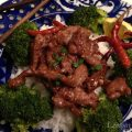Crispy Orange Beef & Broccoli