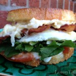 Jarlsberg BLT with Fried Egg