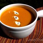 Roasted Garlic & Butternut Squash Soup