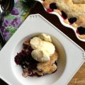 Blackberry Buttermilk Cobbler