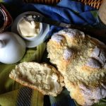 Brown Butter Irish Soda Bread with Rosemary & Black Pepper