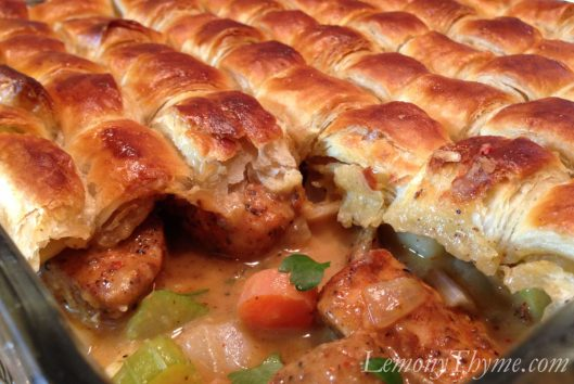Blackened Chicken Pot Pie