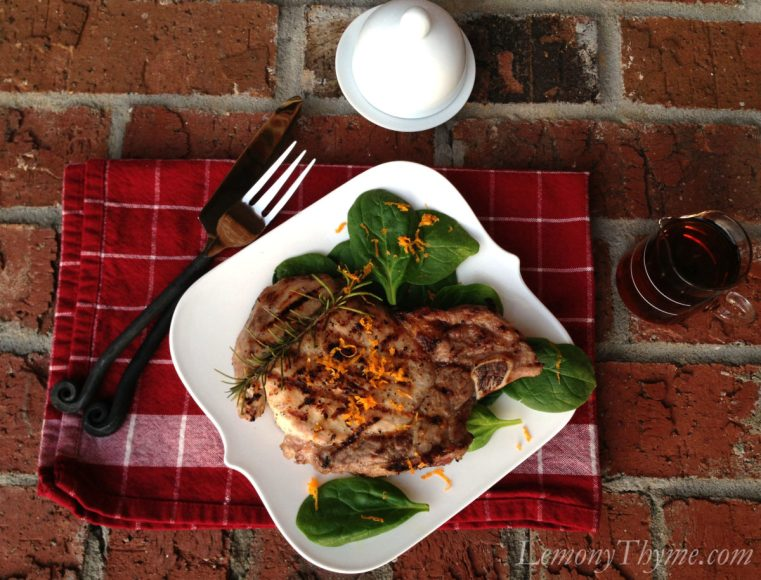 Maple-Brined Pork Chop