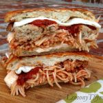 Spaghetti & Meatball Grilled Cheese Sandwich