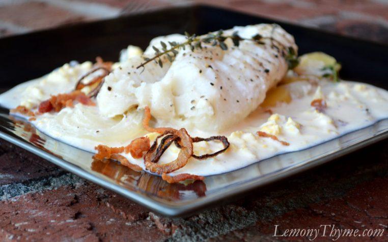 Cod & Potatoes Poached in Milk