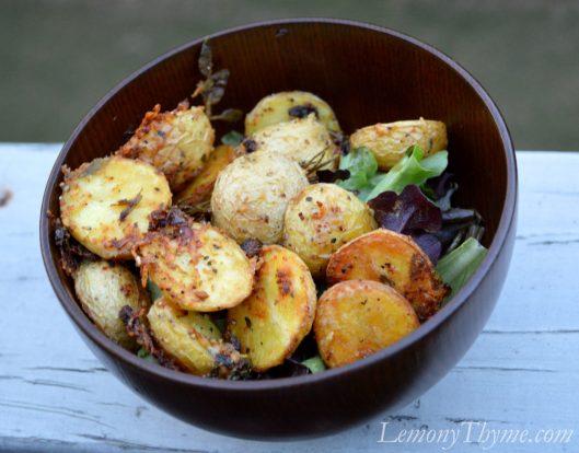 Parmesan Herb Roasted Potatoes