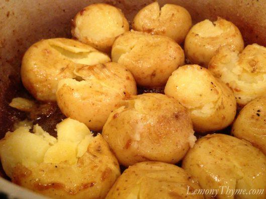 Pepin Potatoes aka Smashed Potatoes