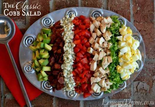 The Classic Cobb Salad from Lemony Thyme