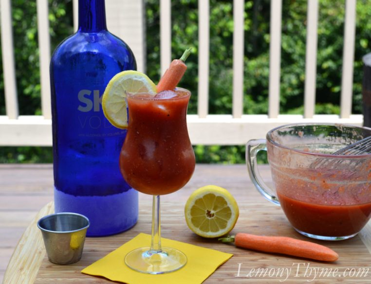 Classic Bloody Mary with Fresh Tomato Juice