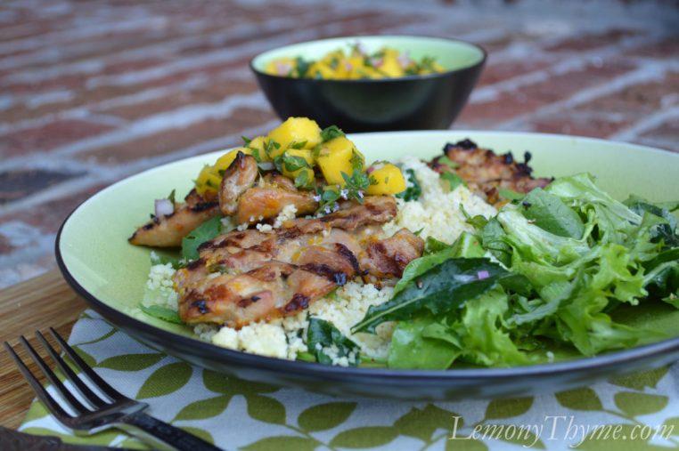Grilled Vietnamese Chicken Thighs
