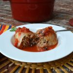 Loaded Stuffed Cabbage Rolls