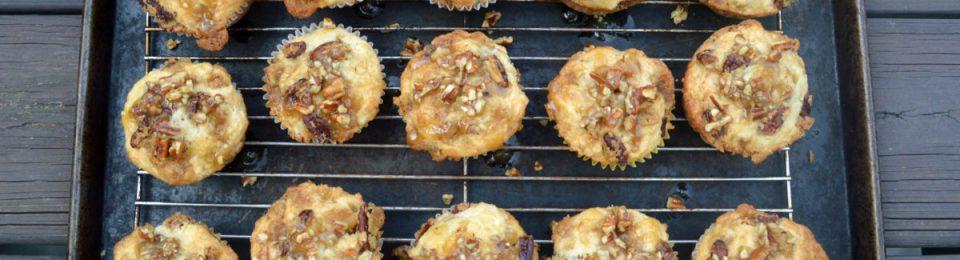 Praline Banana Nut Muffins