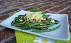 Mushroom Thyme Haricot Verts