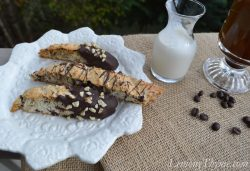 Dark Chocolate & Walnut Biscotti