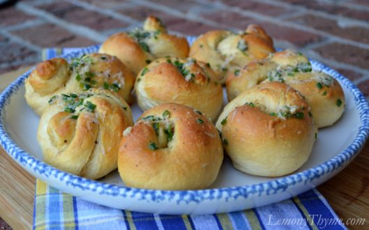 Parmesan Herb Knots