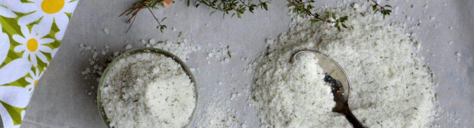 Lemony Thyme Herbed Sea Salt